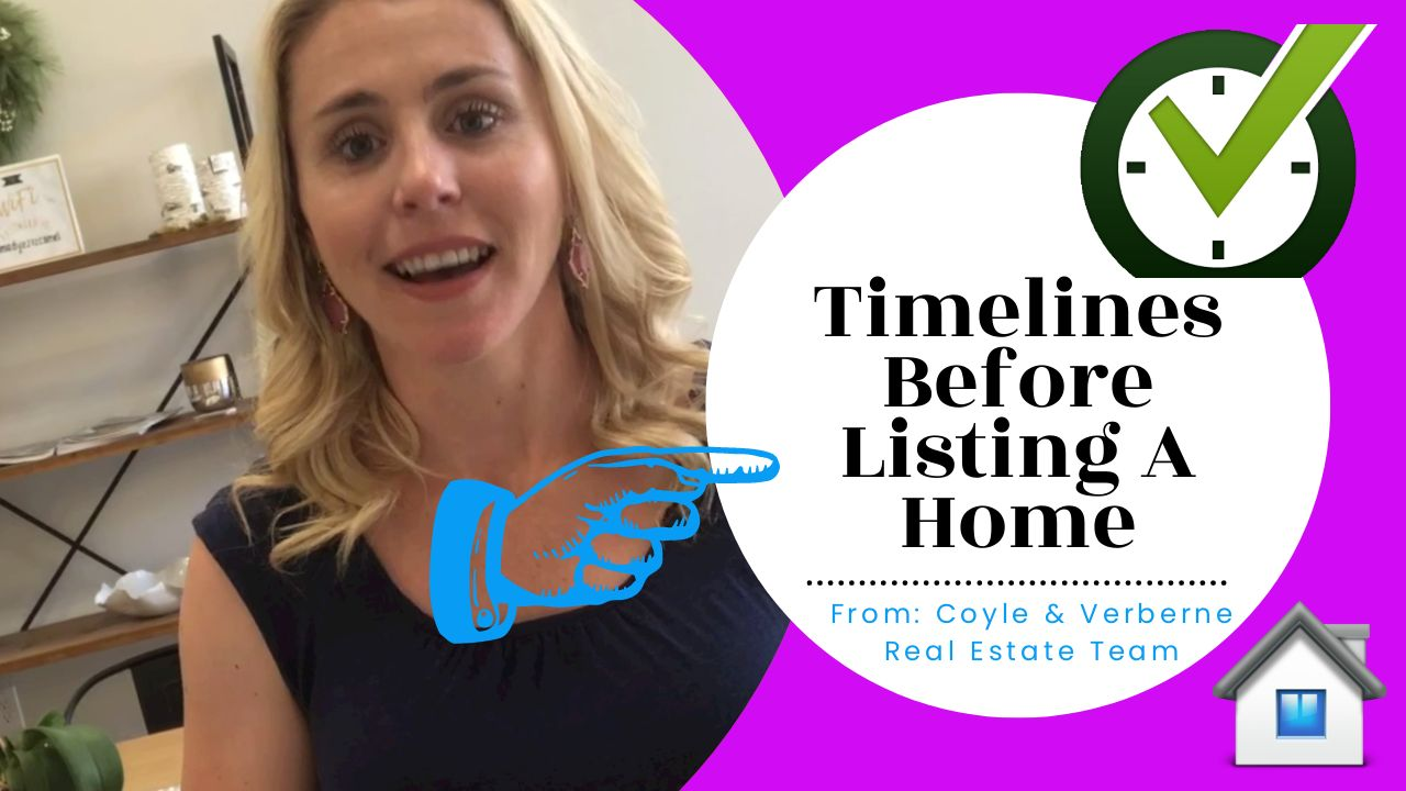 Timelines Before Listing A Home